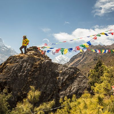Prayer Flag sentinel